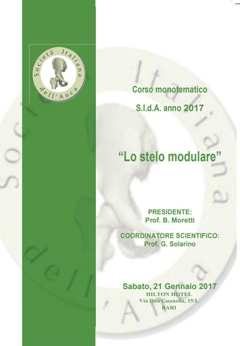 Locandina SIdA 2017 Stelo modulare